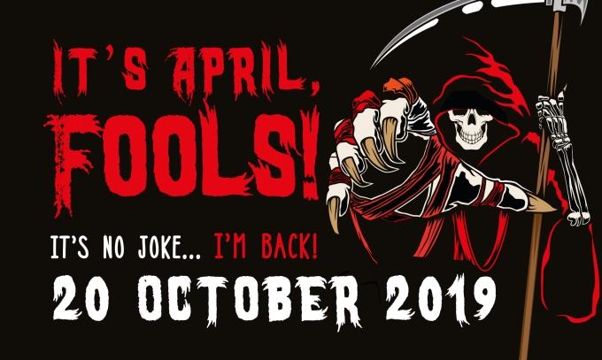 Bigger reaper april advert